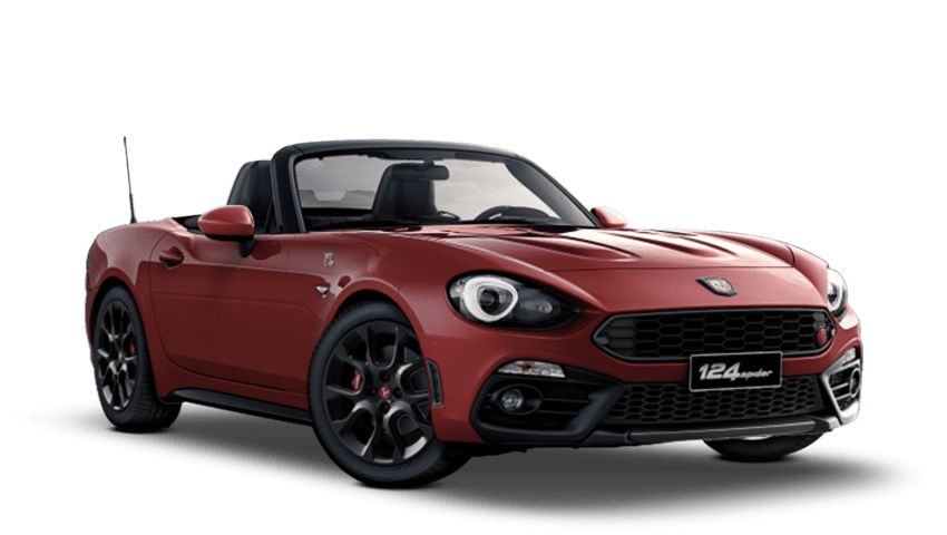 New Abarth 124 Spider