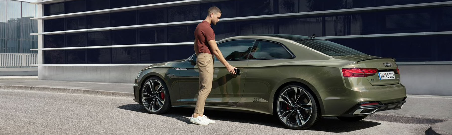 Audi A5 Coupe Business Offer