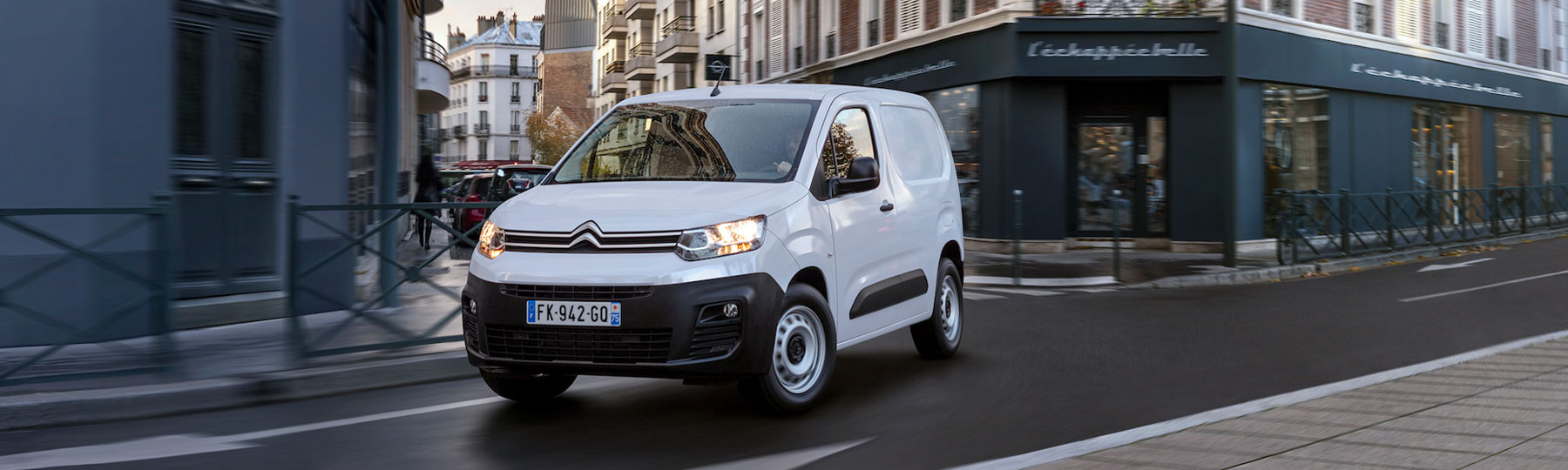 citroen Berlingo Van Leasing Offer