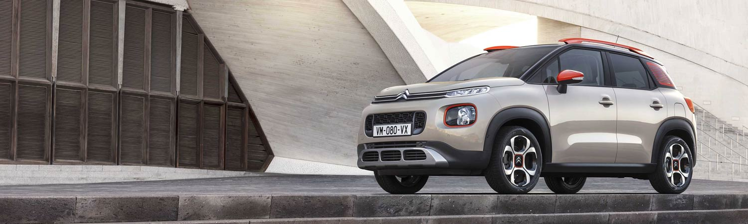 New CITROEN C3 Aircross Personal Leasing Offer