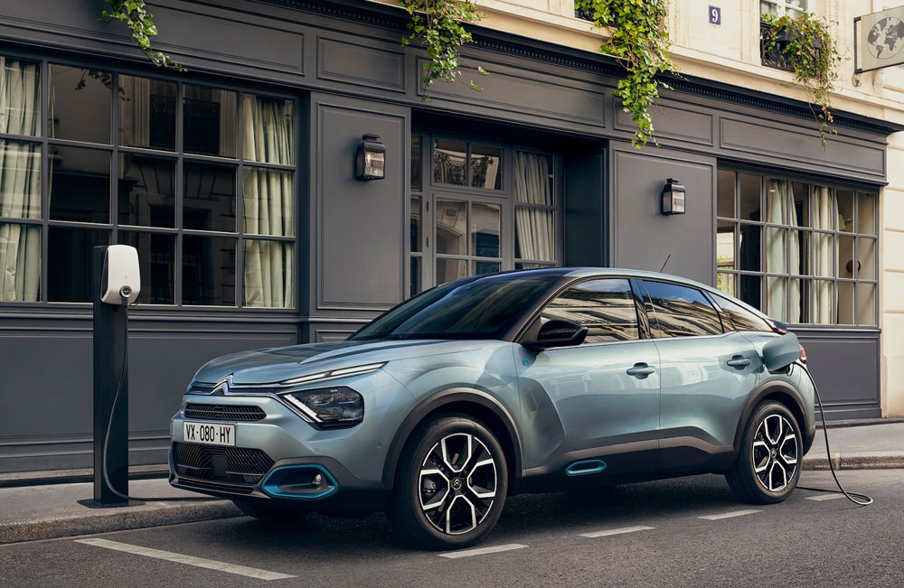 New CITROEN eC4 100kWh with 50kwh Battery