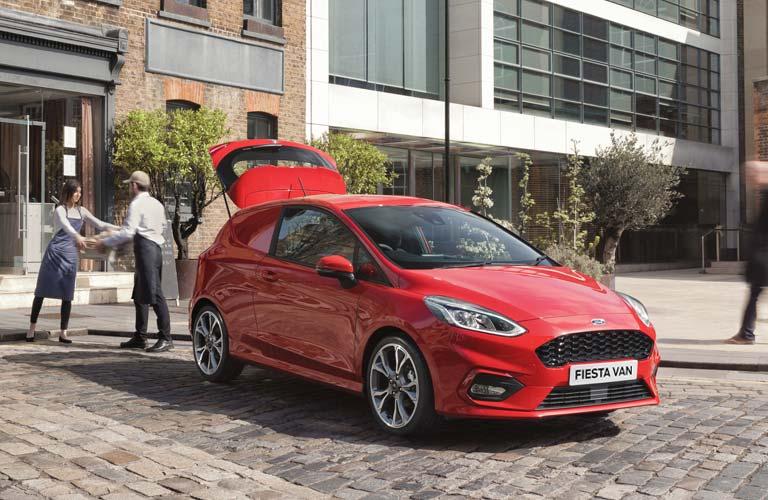 All-new Ford Fiesta Van
