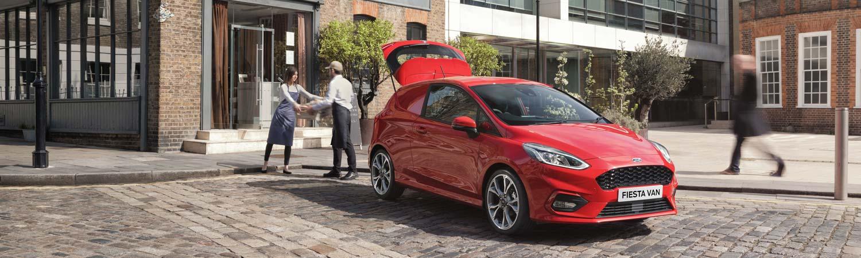 Ford Fiesta Sport Van New Van Offer