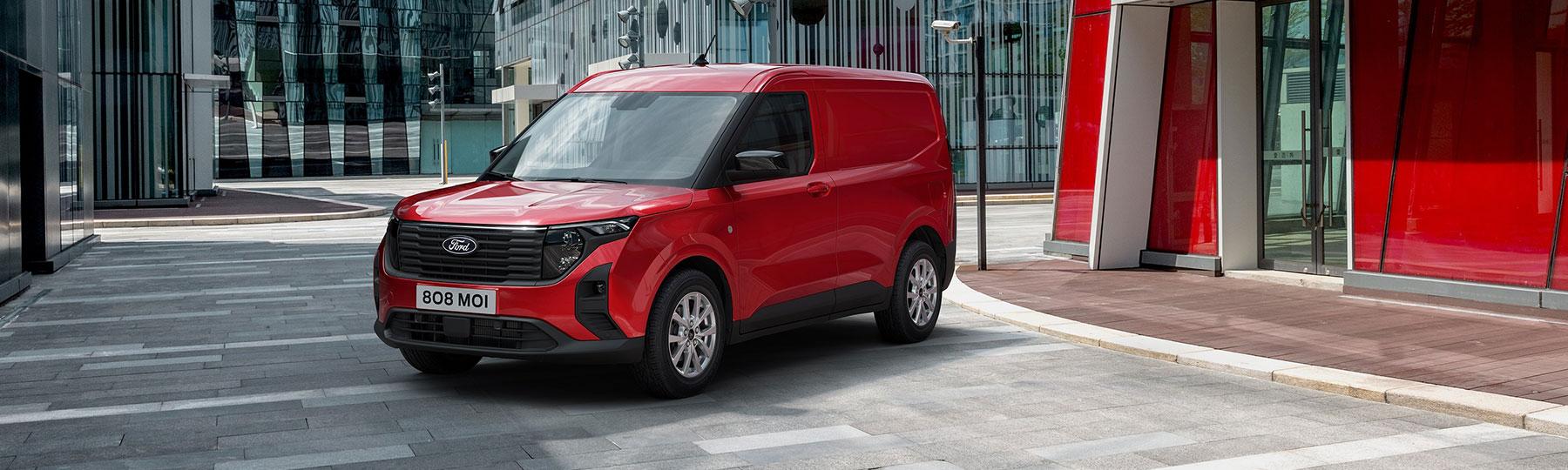 Ford Transit Courier Privilege Van Offer