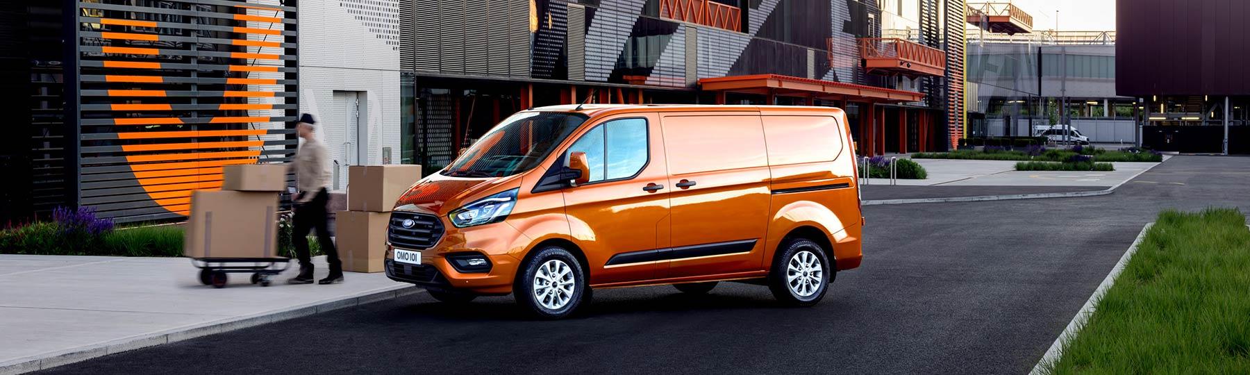 Ford Transit Custom New Van Offer