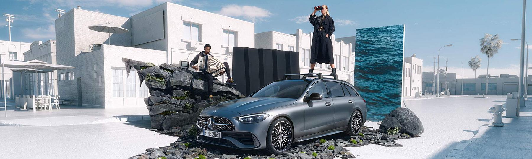 mercedes benz C-Class Estate New Car Offer