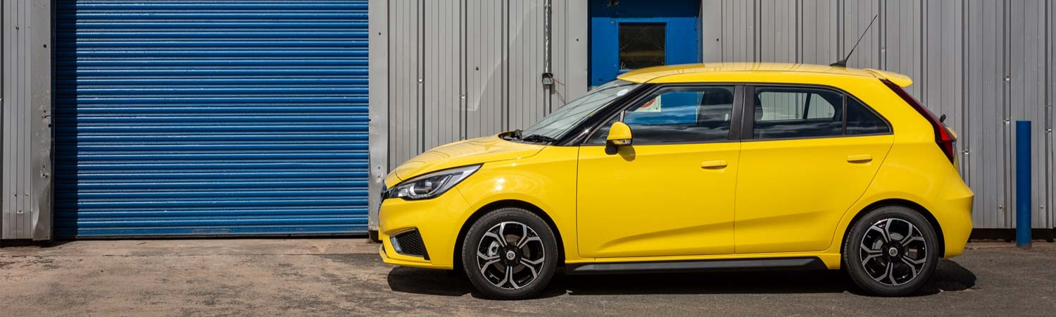 New MG3 Excite - Business Contract Hire