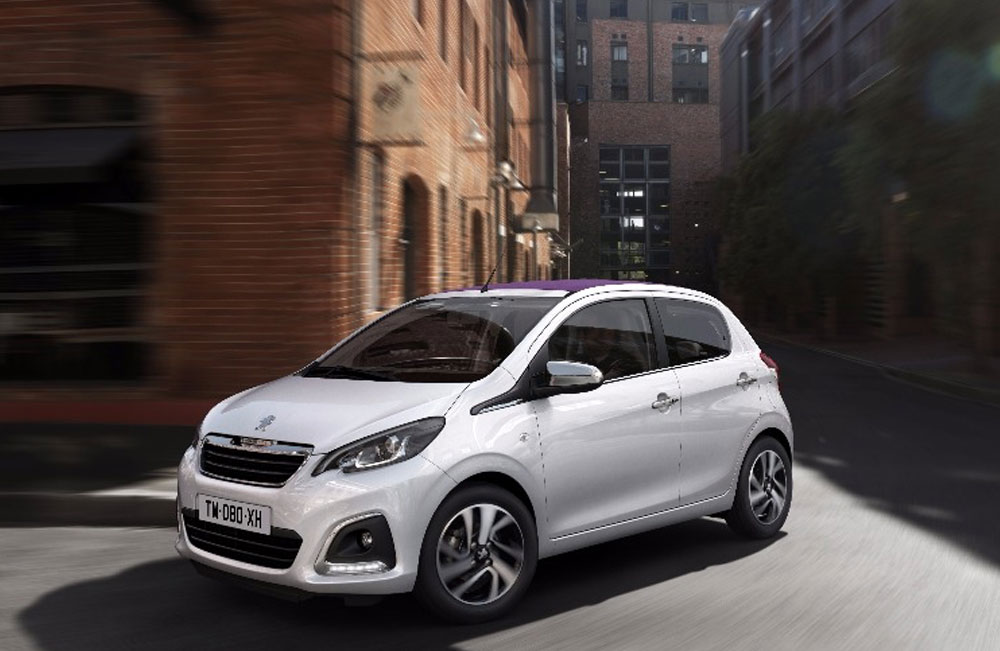 New Peugeot 108 Active only £8495 - Save £4170!