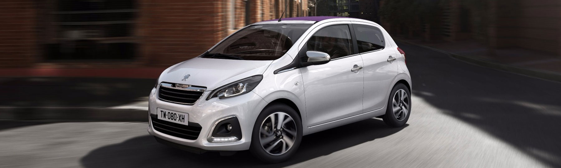 New Peugeot 108 Allure - £158 Monthly