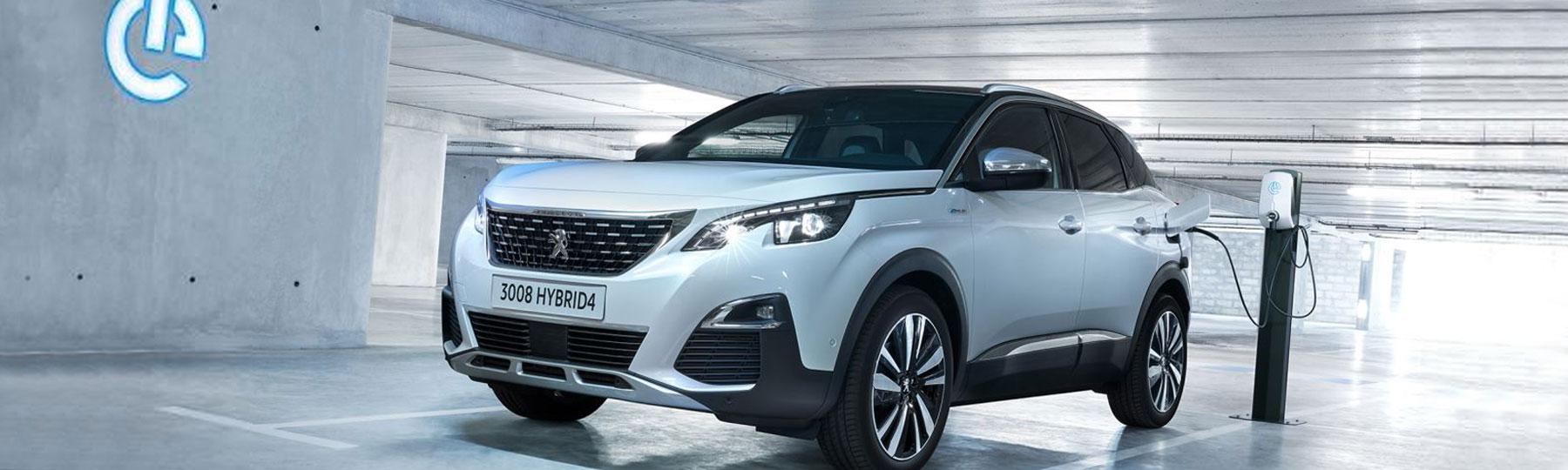 Peugeot 3008 SUV Hybrid New Car Offer