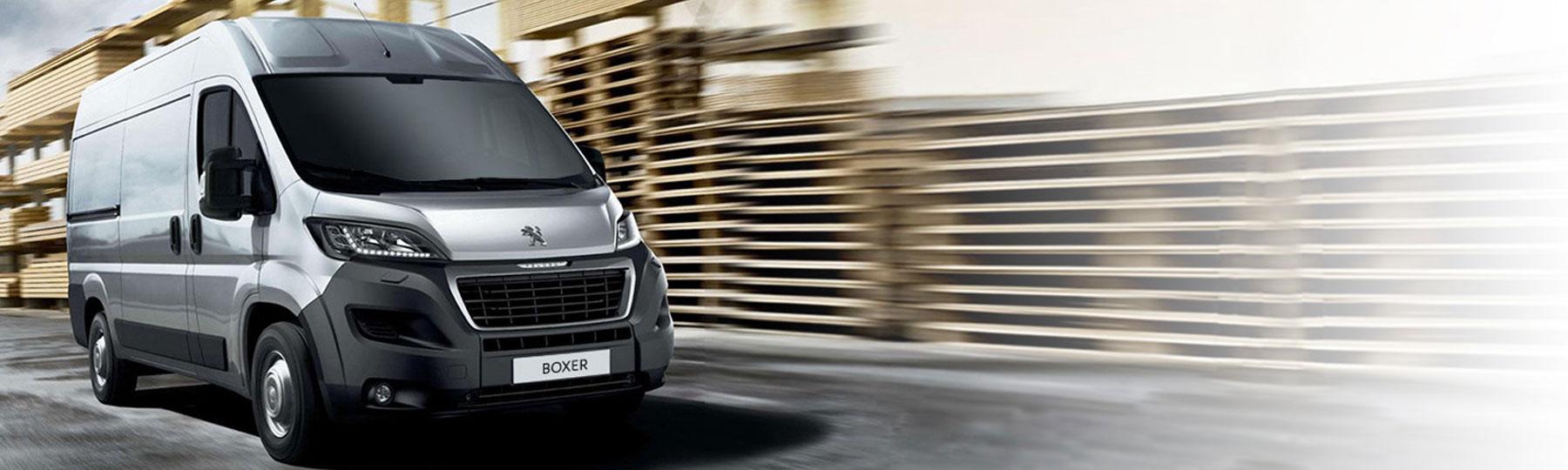 New Peugeot Boxer