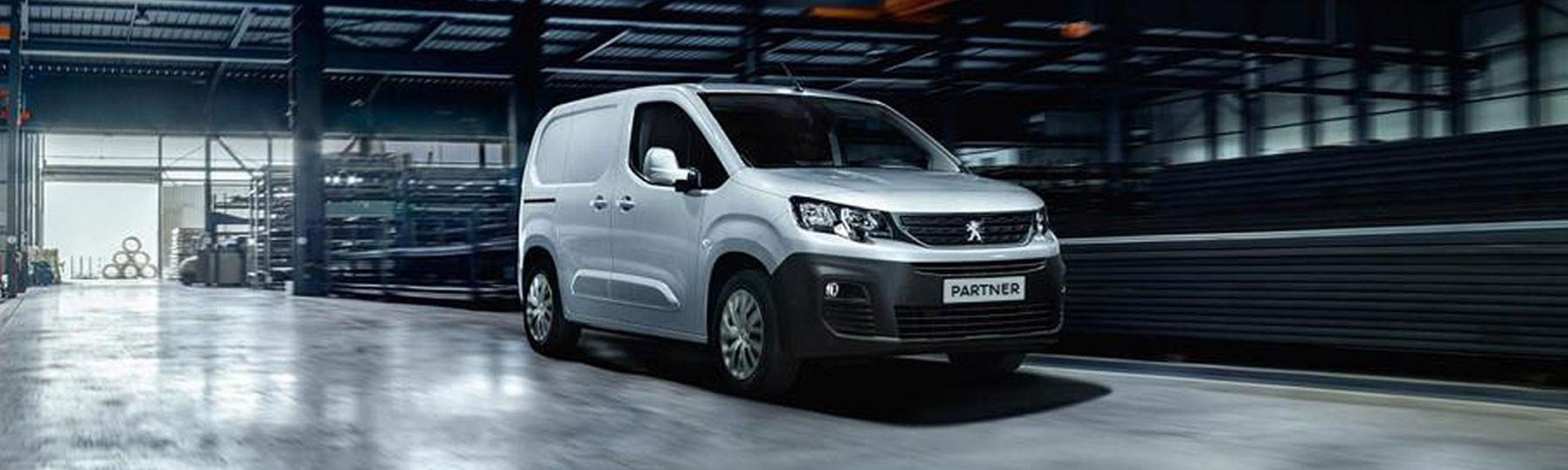 peugeot Partner New Van Offer
