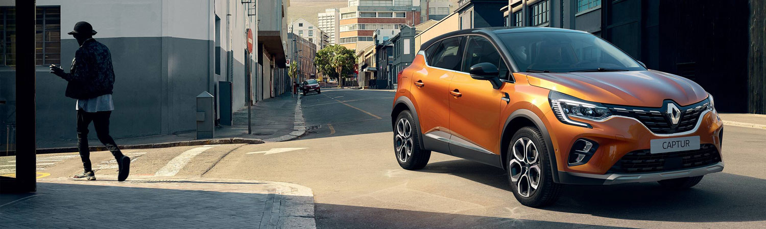 All-New Renault CAPTUR - £259 Monthly 4.9% APR
