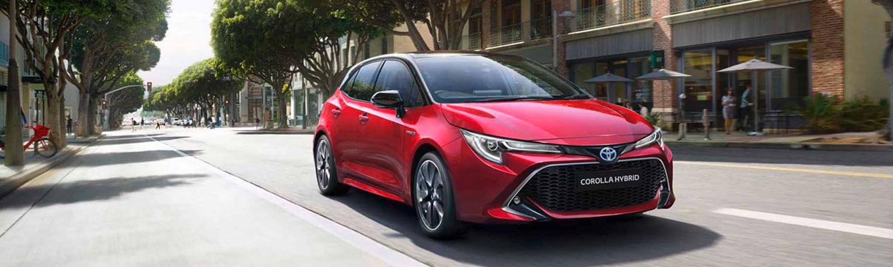 Toyota Corolla Hatchback Business Offer