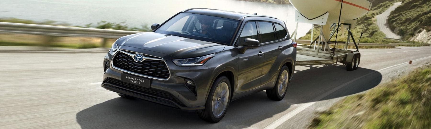 All New Toyota Highlander Business Offer