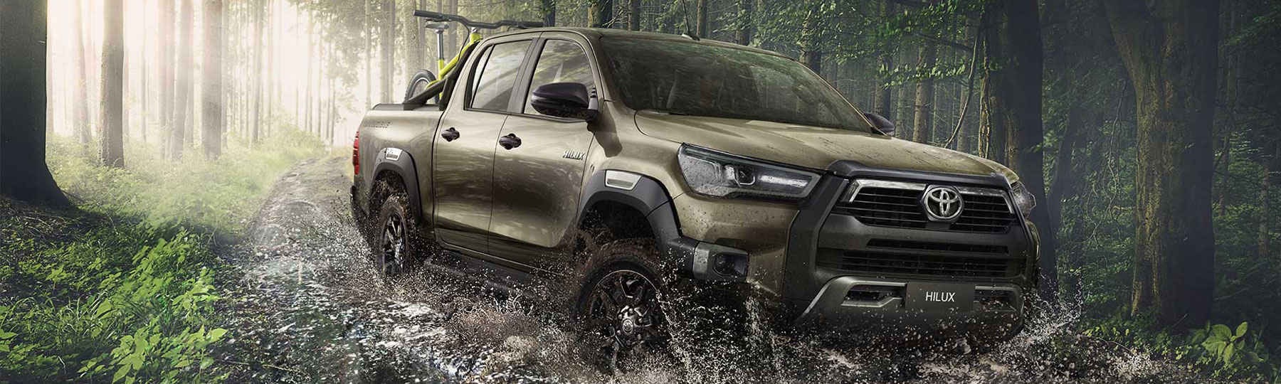 New Toyota Hilux New Van Offer