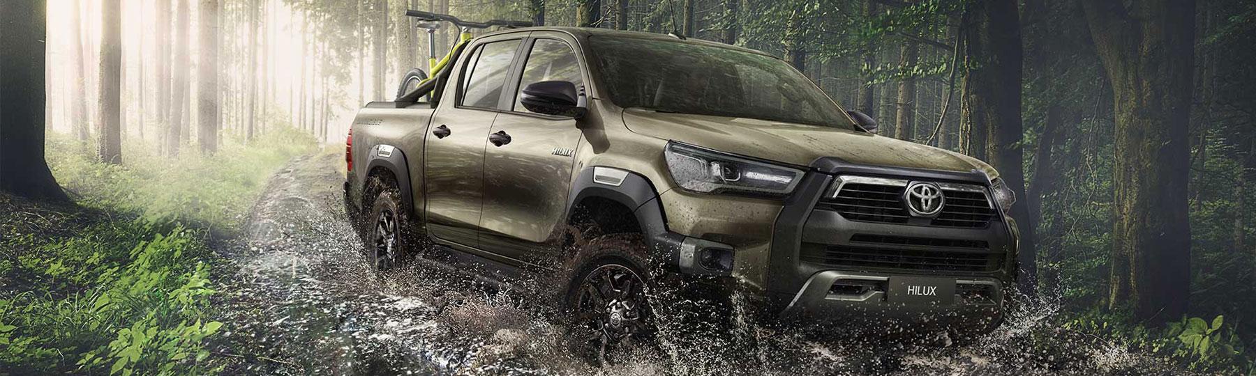 Toyota Hilux New Van Offer