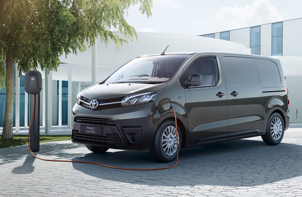 All New Toyota Proace Electric Business Offer