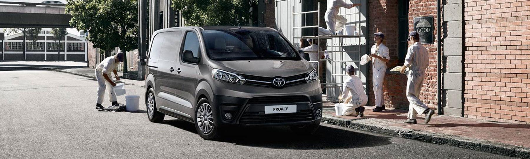 toyota Proace New Van Offer