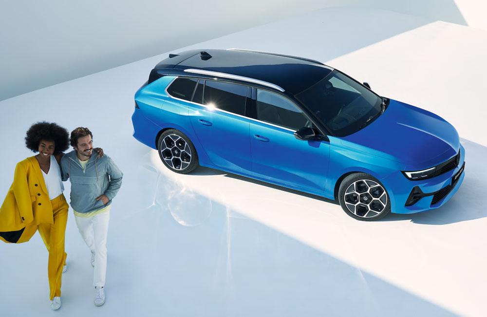 New Vauxhall Astra Sports Tourer Business Offer