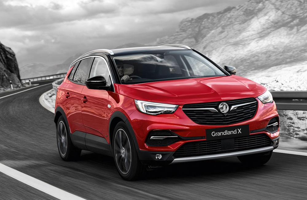 Vauxhall Grandland X Hybrid New Car Offer