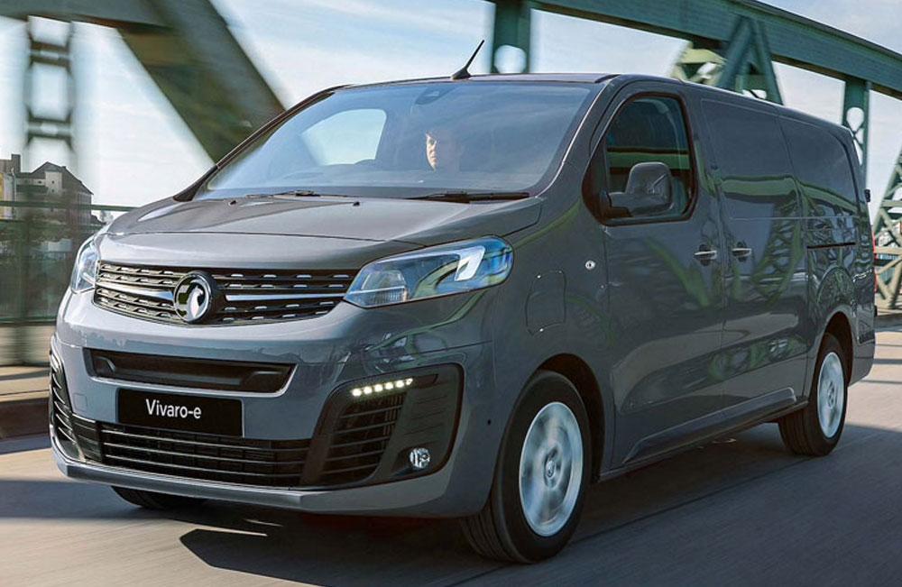 Vauxhall Vivaro-e New Van Offer