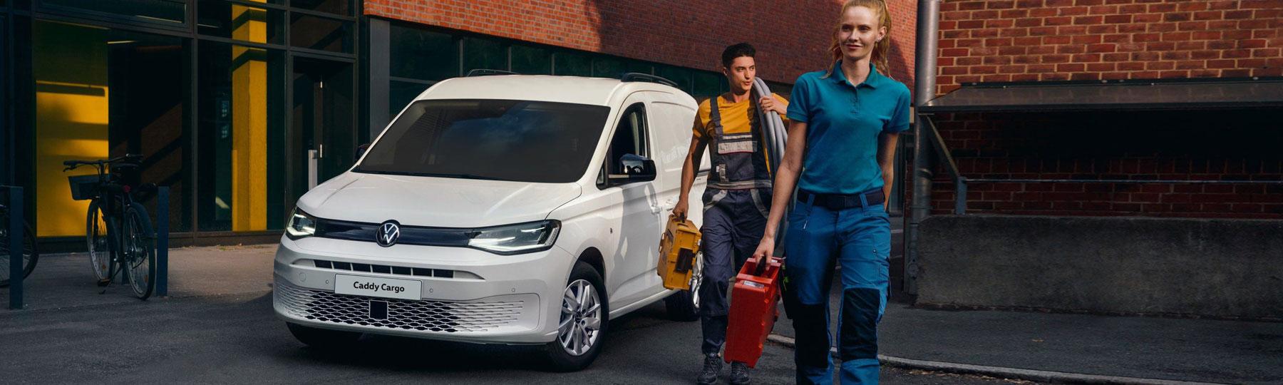 The New Volkswagen Caddy Cargo New Van Offer