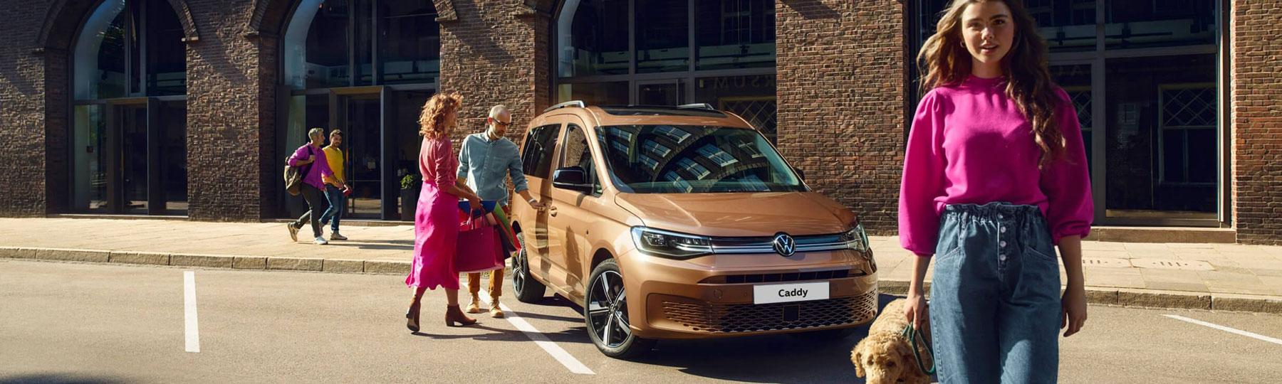 The New Volkswagen Caddy New Van Offer