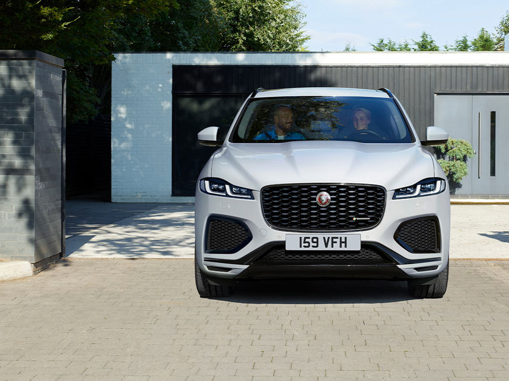 new jaguar f pace for sale spire jaguar. Black Bedroom Furniture Sets. Home Design Ideas