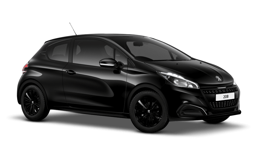 peugeot 208 Black Edition Offer