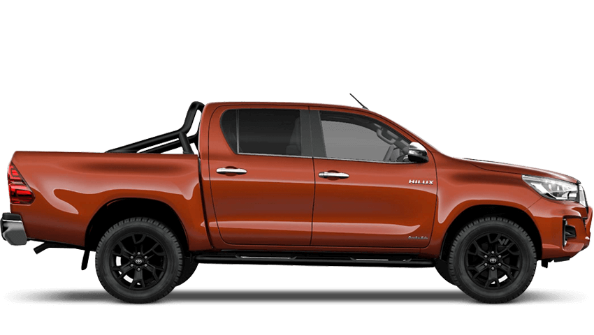 Hilux Invincible X Limited Edition - Orange
